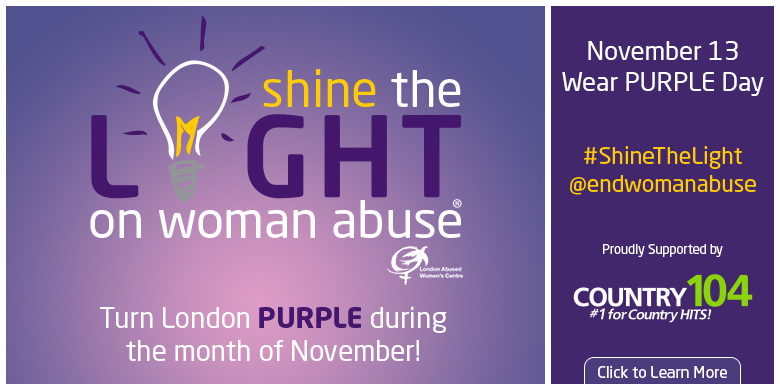 Shine The Light On Woman Abuse Month
