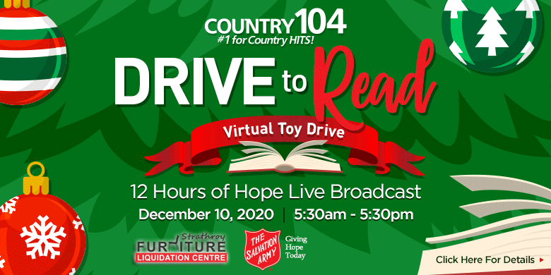 Country 104 Toy Drive to Read