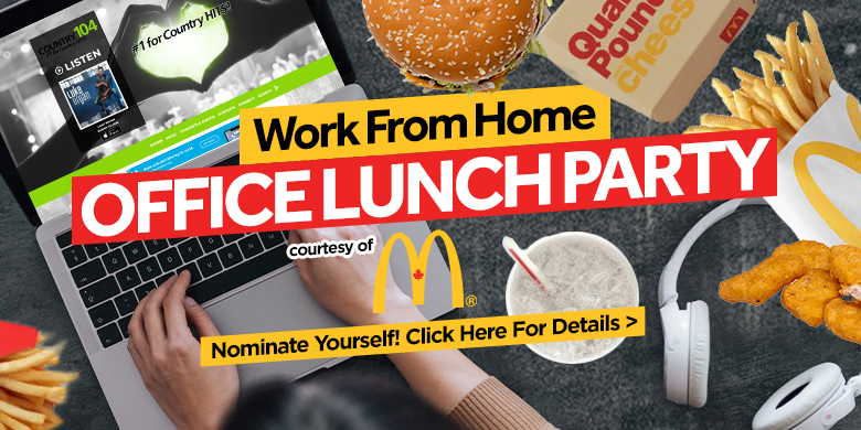 Work From Home Office Lunch Party!